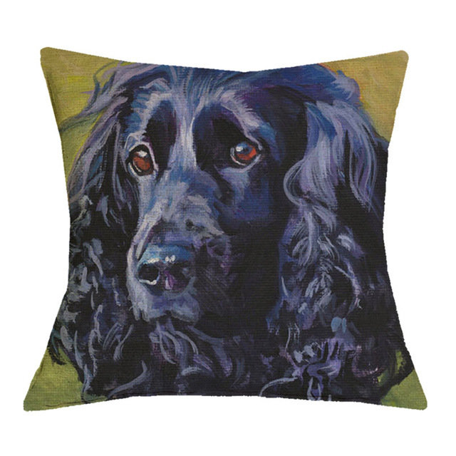 Field Spaniel Cushion Cover