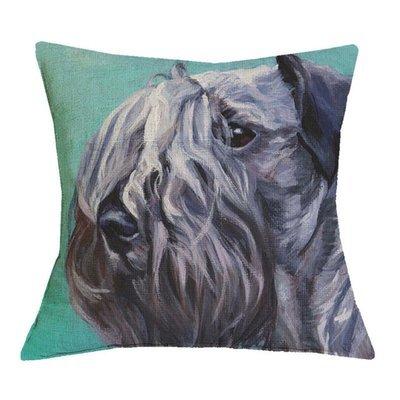 Black Russian Terrier Cushion Cover
