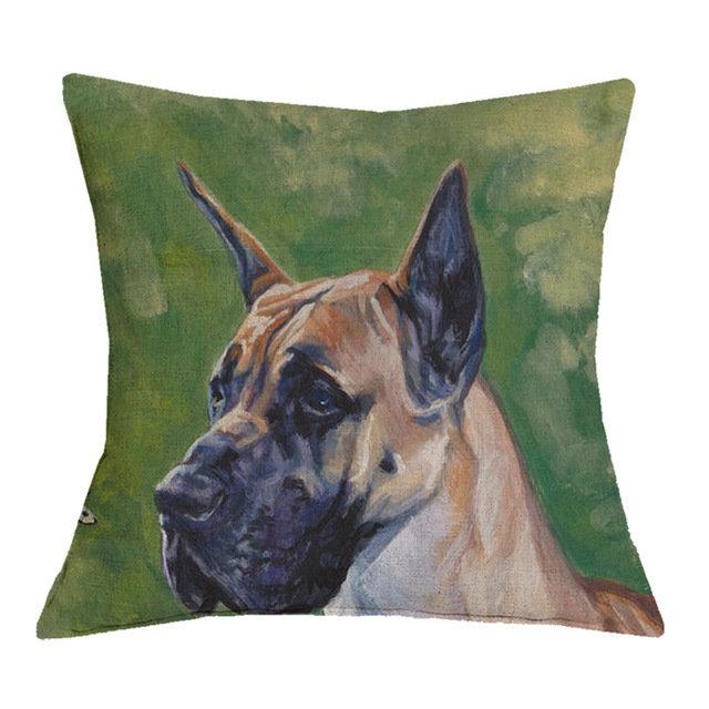 Great Dane Cushion Cover