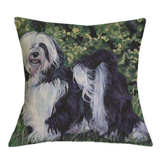 Lowchen Cushion Cover