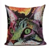 Cat 2 Cushion Cover