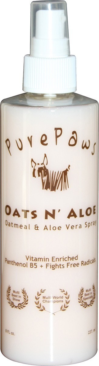 Pure Paws Oats & Aloe Spray 8oz