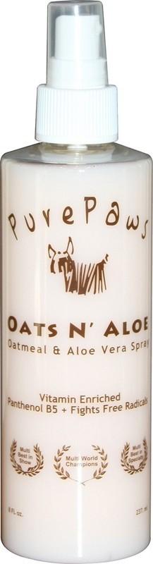 Pure Paws Oats & Aloe Spray 8oz