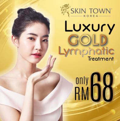 Luxury Gold Lymphatic Treatment ( Facial )