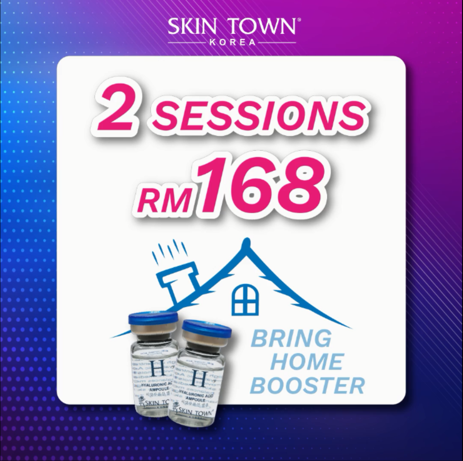 NEW Cust Promo: 2 sessions of Korean Lymphatic Water Booster + Free Ampoules