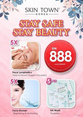 MCO 2.0 Promo Package - 5 x Face Lymphatic & 5 x Face Shower t +
