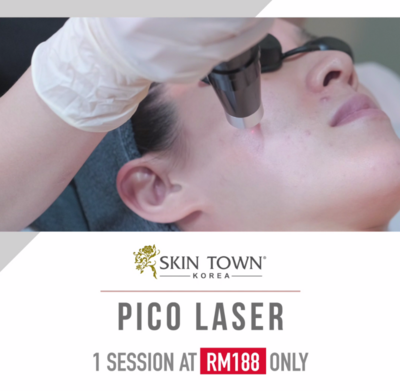 NEW CUSTOMER PROMO:  1 session of Pico Laser Facial Treatment