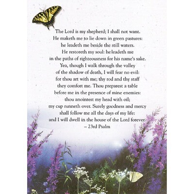 Wildflowers 5x7 Card