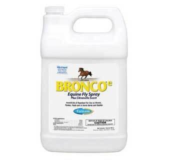 Bronco-E Equine Fly Spray Gallon - Citronella Scent