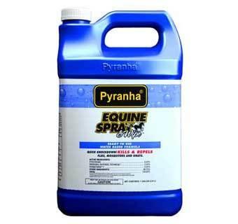 Pyranha Equine Fly Spray and Wipe 1 gallon