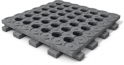 Mud Control Grids - 10 pack approx 26.9 ft² coverage