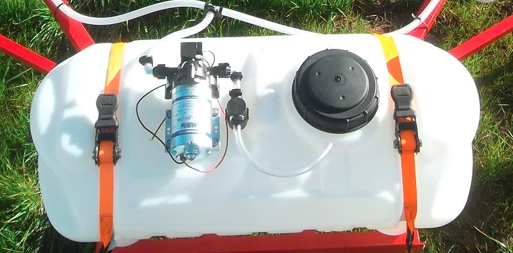 Optional 14 Gallon ATV Spot Sprayer 3GPM