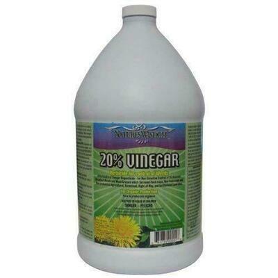 Nature's Wisdom 20% Vinegar Weed control