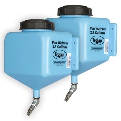 Trojan® Pen Waterer - 2.5 Gal - 2 pack
