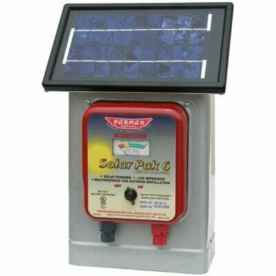 Parmak Solar Fencer Pak 6V DFSPLI