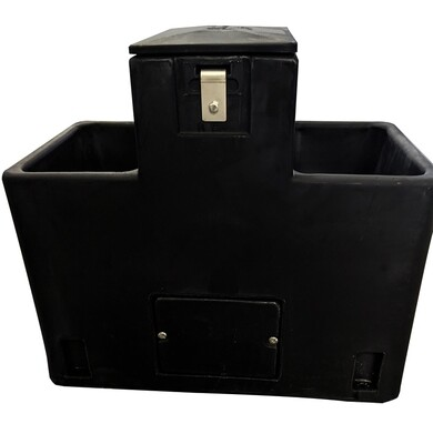 Lilspring 2900 in BLACK two trough automatic waterer