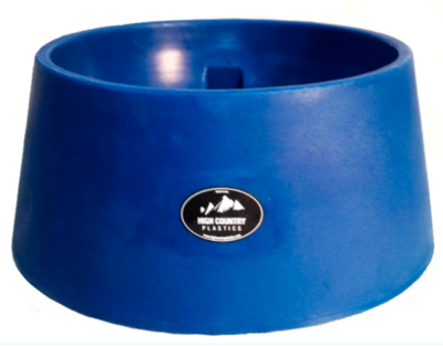 High Country Plastics 15 gallon Auto Water Basin - Blue