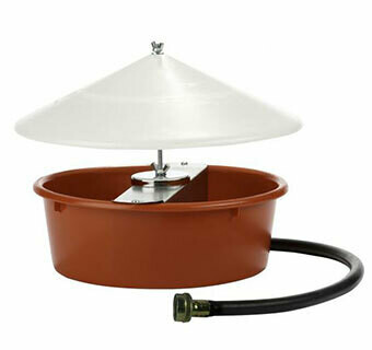 Miller MFG Automatic Chicken Waterer with cover