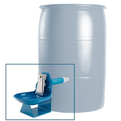 Trojan Gravity Flow Barrel Waterer Kit