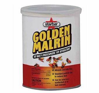 Starbar Golden Malrin Fly Bait 40 LB Drum