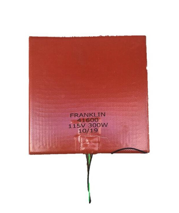 "Franklin Silicone Heater 7"" x 7"" #41600"