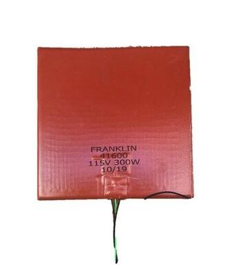 "Franklin Silicone Heater 7"" x 7"" #41600"