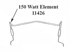 Trojan 150W Heating Element 11426
