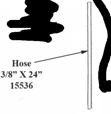 Trojan Hose 3/8