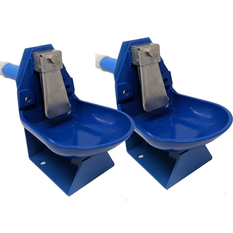 Trojan Gravity Flow Barrel Waterer Kit 2 pack