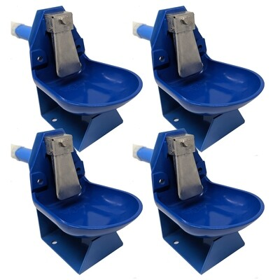 Trojan Gravity Flow Barrel Waterer Kit 4 pack