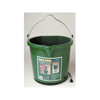 Farm Innovators Bucket Flat Back Heated 5 Gallon Bucket FB-120
