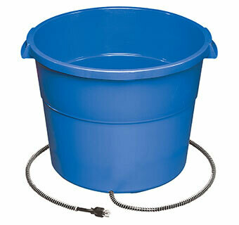 Miller MFG Heated Water Bucket - 16 Gallon 16HB
