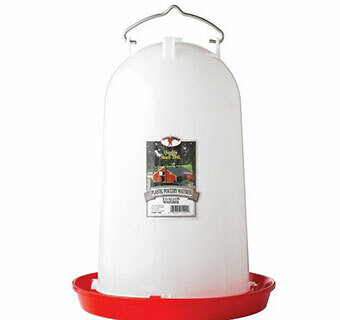 Miller MFG Plastic Poultry Drinker - 3 Gallons