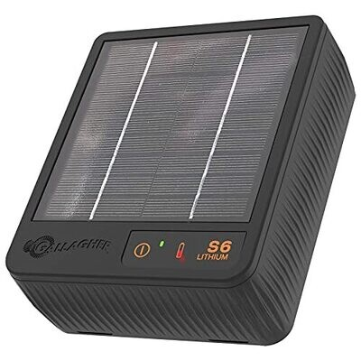 Gallagher S6 Lithium Solar Fence Energizer