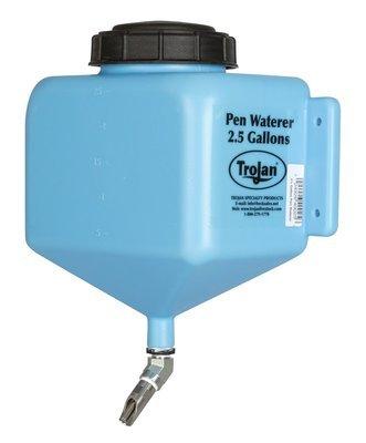 Trojan Pen Waterer - 2.5 Gal - Ideal for swine shows