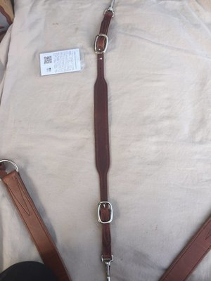 Buckaroo Leather Over the Neck Breast Collar Straps