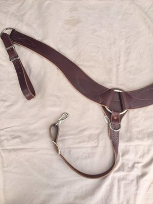 Buckaroo Leather Leather Roper Breast Collar