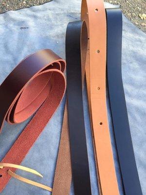 Buckaroo Leather Latigo Cinch Tie Strap
