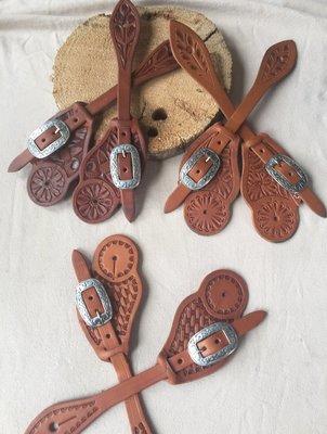 Buckaroo Leather - Cowboy Style Spur Strap
