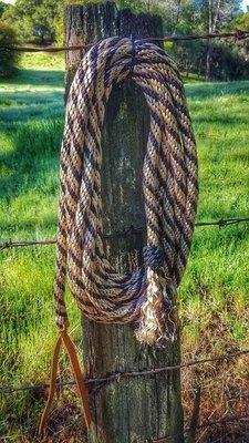 Buckaroo Leather - Nylon braid mecate
