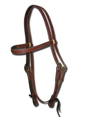 Buckaroo Ultimate Lined & Oiled Harness Headstall