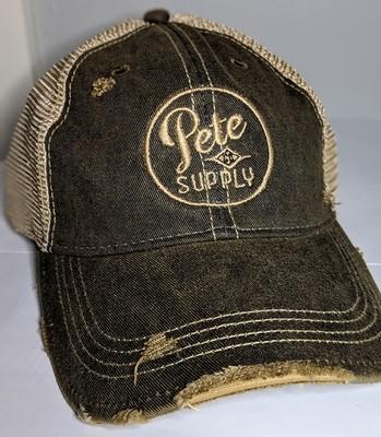 Black PeteCo Supply Hat