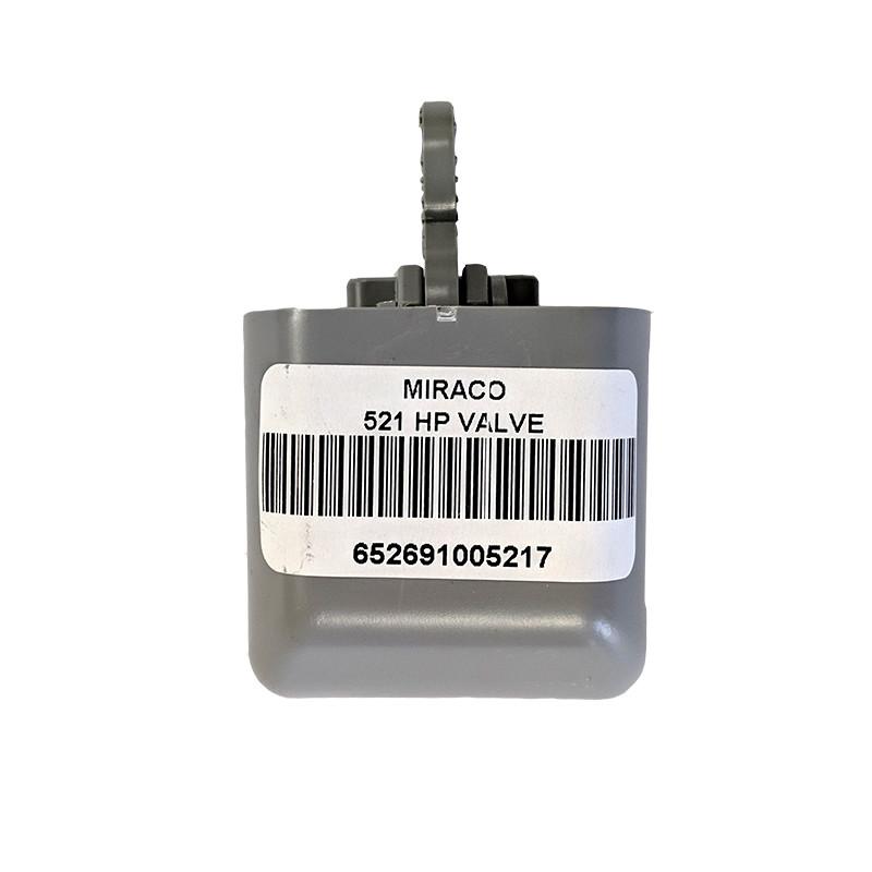 Miraco High-Pressure Valve - Gray #521 40-80 PSI.