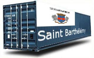 Saint Barthélémy groupage maritime