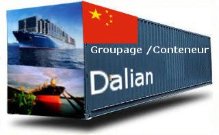 Chine Dalian groupage maritime