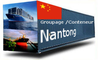 Chine Nantong groupage maritime