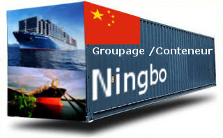 Chine Ningbo groupage maritime