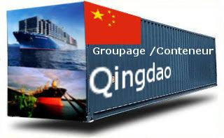 Chine Qingdao groupage maritime