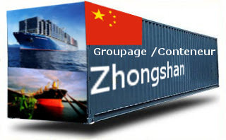 Chine Zhongshan groupage maritime
