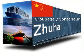 Chine Zhuhai groupage maritime